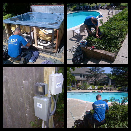 Swimming Pool Wiring - All Star Electrical Services, LLC ... on